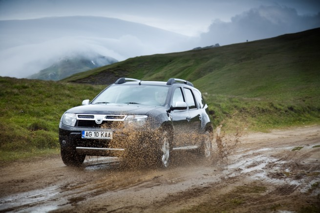 Test anvelope 2013 Dacia Duster
