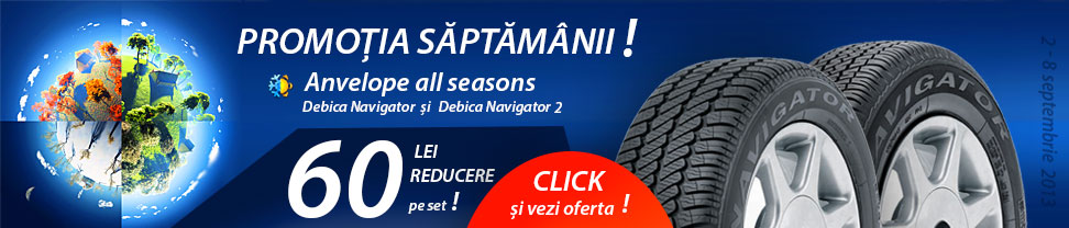 Promotie anvelope all season Debica