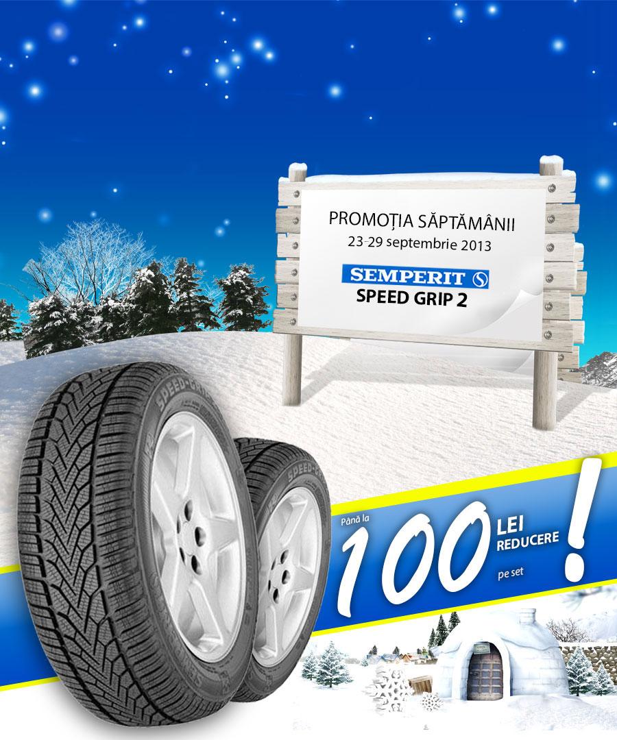 Promotie anvelope de iarna Semperit