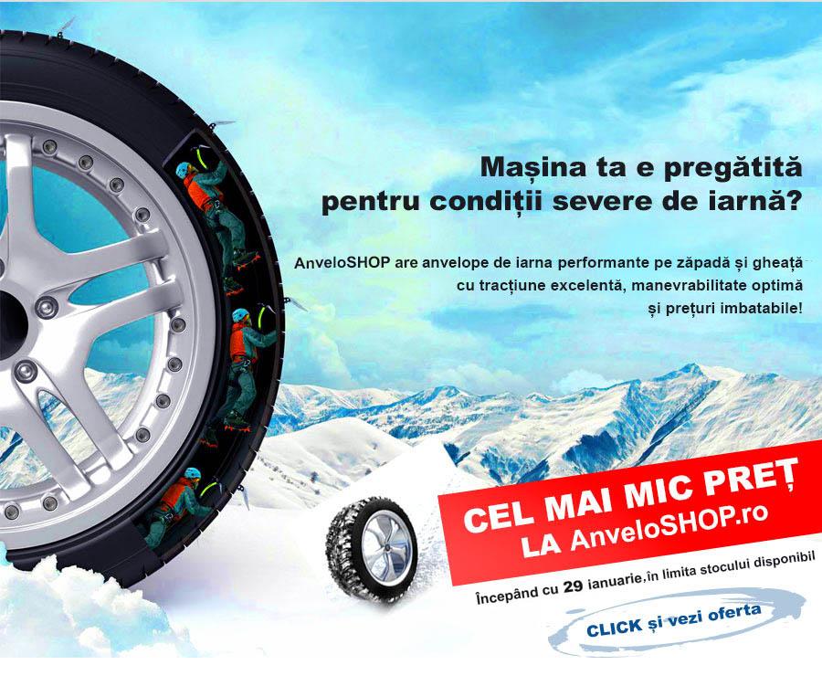 Promotie anvelope de iarna