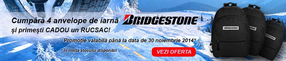 promotie anvelope de iarna bridgestone