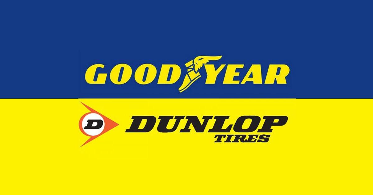 Anvelope Goodyear si Dunlop