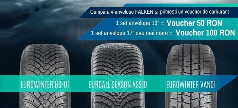 Promotie la anvelopele de iarna si all season FALKEN